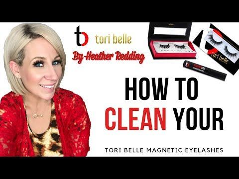 Tori Belle Cosmetics How To Clean Your Magnetic Lashes Tori Belle Cosmetics How To Clean Your Magnetic Lashe In 2020 Magnetic Lashes Magnetic Eyelashes Lashes