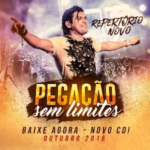 Capa do CD PEDRINHO PEGAÇÃO - REP. NOVO - JOÃO PESSOA-PB - PEGAÇÃO SEM LIMITES - @TONINHOCDSS