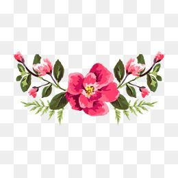 Chinese Red Flowers Vector China Element Flowers Png Transparent Clipart Image And Psd File For Free Download Flower Png Images Art Drawings Simple Vector Flowers