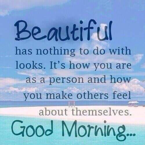 Good morning to all the Pretty Girls