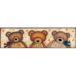 Live Well Love Much Laugh Often Home Wall Decor Plaque Set or ...