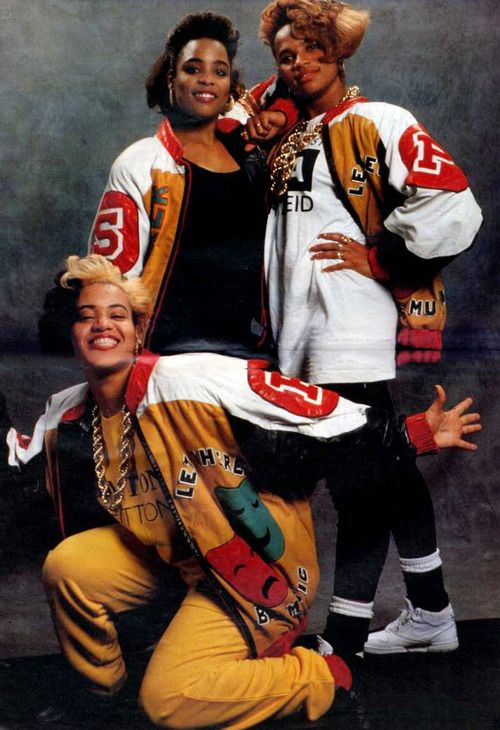blackfashion:  iwywaw:  Salt N Pepa LOOK-IN MAGAZINE 1988 #49  Don't forget DJ Spinderella