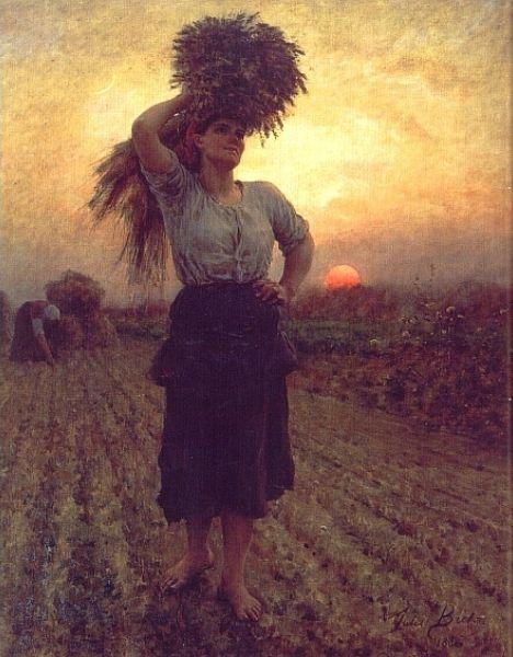 Jules Breton, The Harvesters, 1872