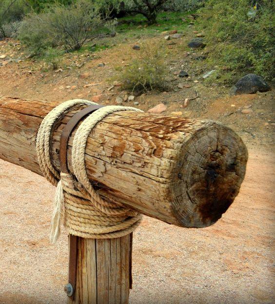 Hitching Post, Sahuaro Lake, AZ  by Rickymac