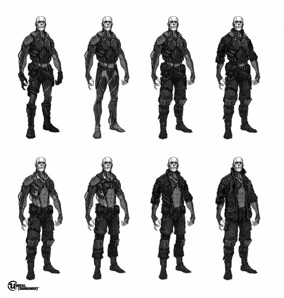 Unreal Tournament Necris concept art - NeoGAF