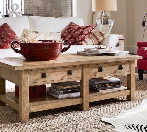 Benchwright Rectangular Coffee Table Seadrift Potterybarn Coffee Table Reclaimed Wood Coffee Table Coffee Table Wood