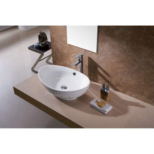 Found it at Wayfair - Vessel Bathroom Sink Ideas for Powder Room
