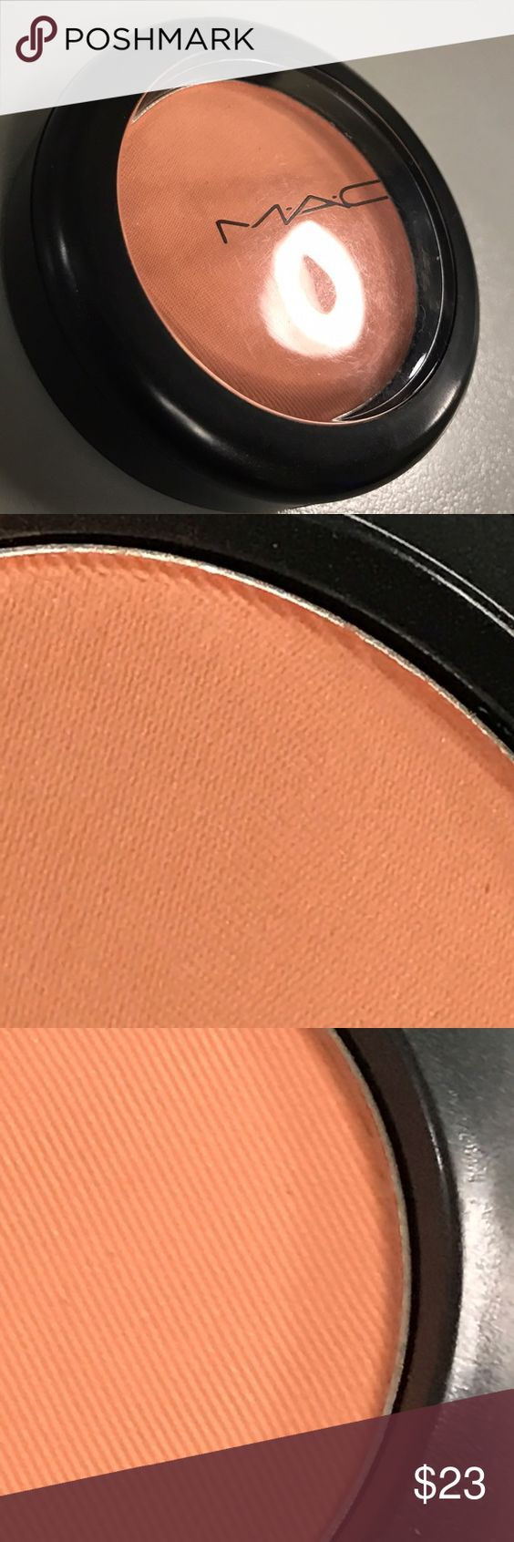 MAC My Highland Honey Blush Tartan Tale NEW LE DC Beautiful rich shade of peach-orange satin finish, buildable or easily sheered out. LE DC. New, no box. MAC Cosmetics Makeup Blush