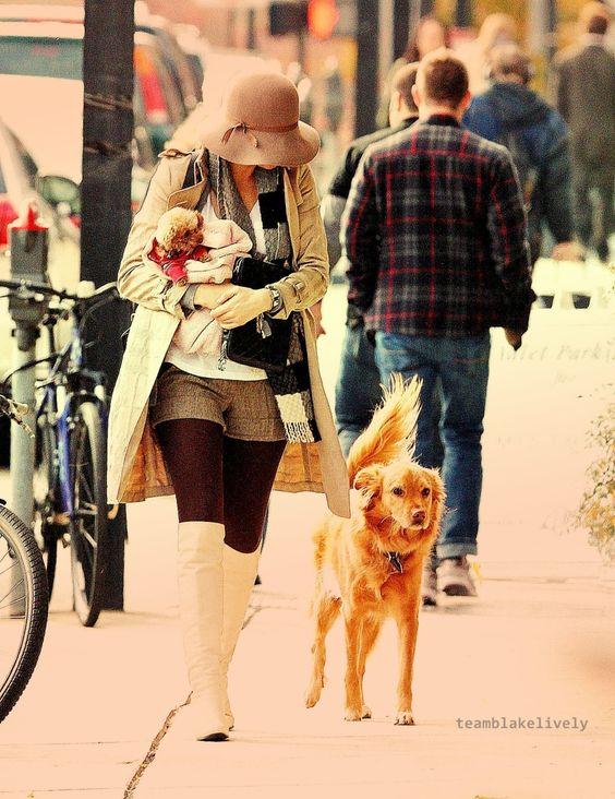 Fashionista meets girl next door.