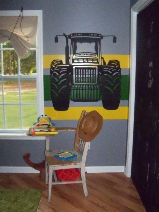 Pinterest the world s catalog of ideas for Boys construction bedroom ideas