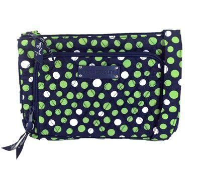 Vera Bradley Little Hipster Crossbody Bag, Lucky Dots