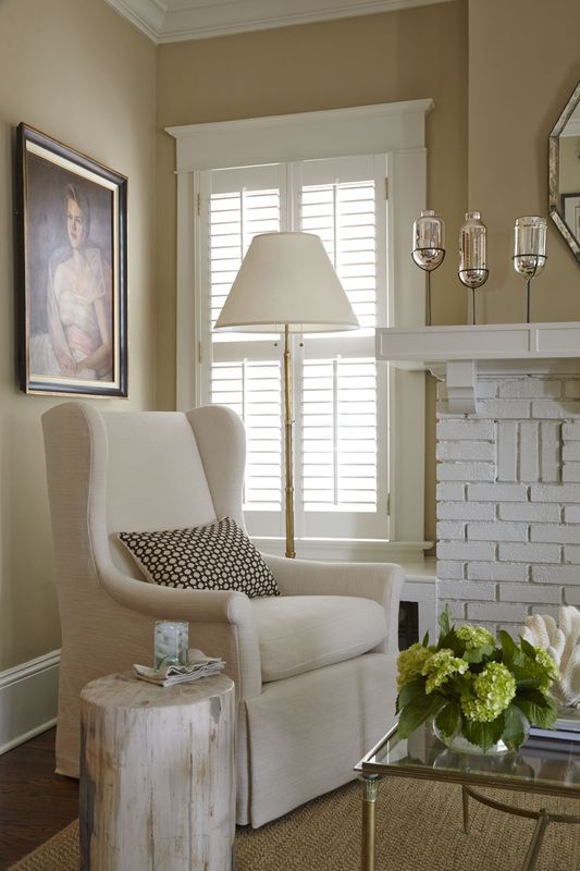 Fireplaces window and design interiors on pinterest for Interior decorators in atlanta ga