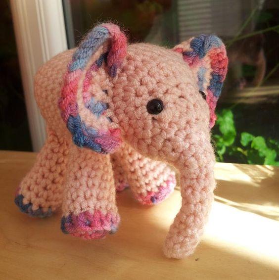 Crochet Amigurumi Elephant Ears : Mei Mei Crochet Elephant 298x300 Meimei: Free Baby ...