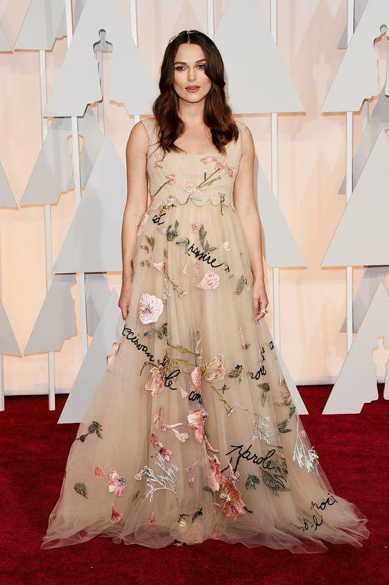 Keira Knightley À la Cinderela: vestidos tipo princesa dominam o red carpet - Vogue | Red carpet