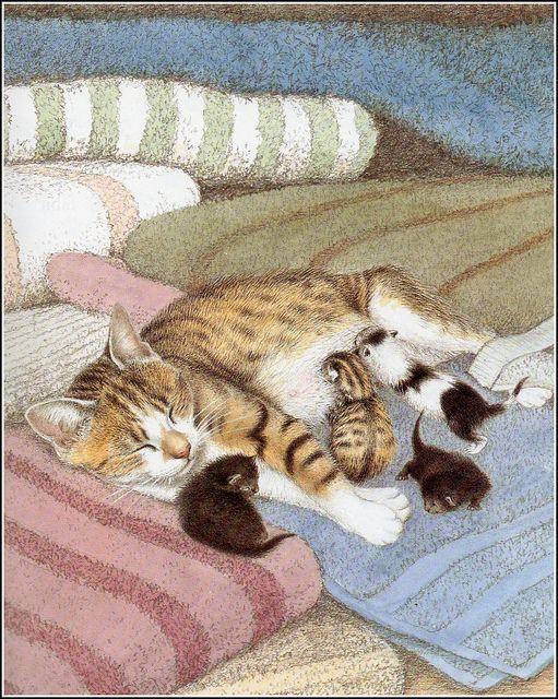cat art: