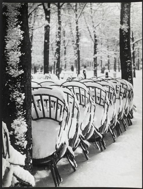Brassai Paris winter.