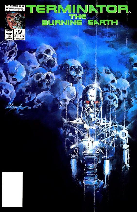 Alex Ross - Terminator The Burning Earth #4