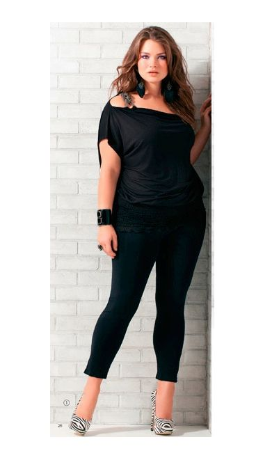 Tara Lynn - Curves Rule: Curvy Girl, All Black Plus Size Outfit, Gorditas Sexy, Black Outfits, Plus Size Sexy Outfit, Size Fashion, All Black Outfit Plus Size, Plus Size All Black Outfit, Curvy Fashion