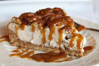 Pecan carmel cheesecake