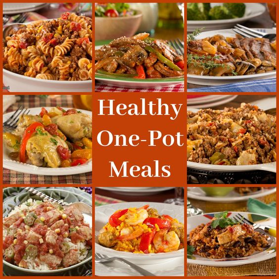 Healthy One Pot Meals 8 Easy Diabetic Dinner Recipes