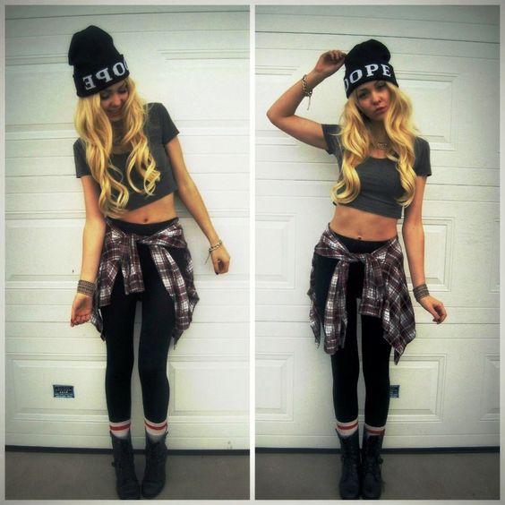 Swag outfits for girls tumblr leggings u2013 WappStyle #outfittumblr #girlslegging #girlstumblr ...