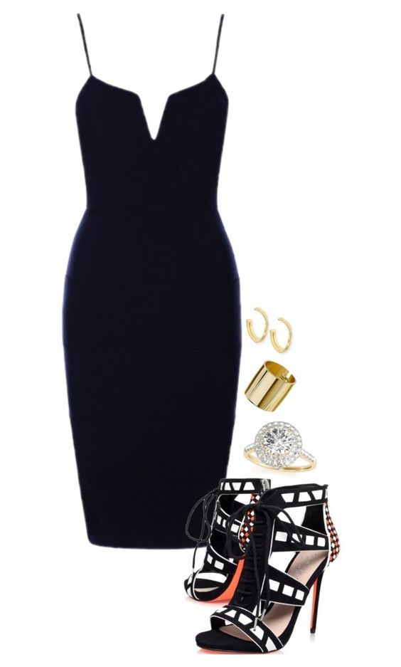 """""""Ladies Night"""" by natashala-campbell on Polyvore featuring Carvela, Topshop, Marco Bicego and Allurez"""