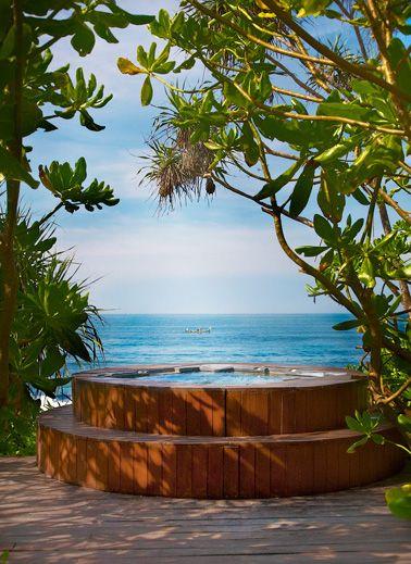 jacuzzi villa with sea - photo #40
