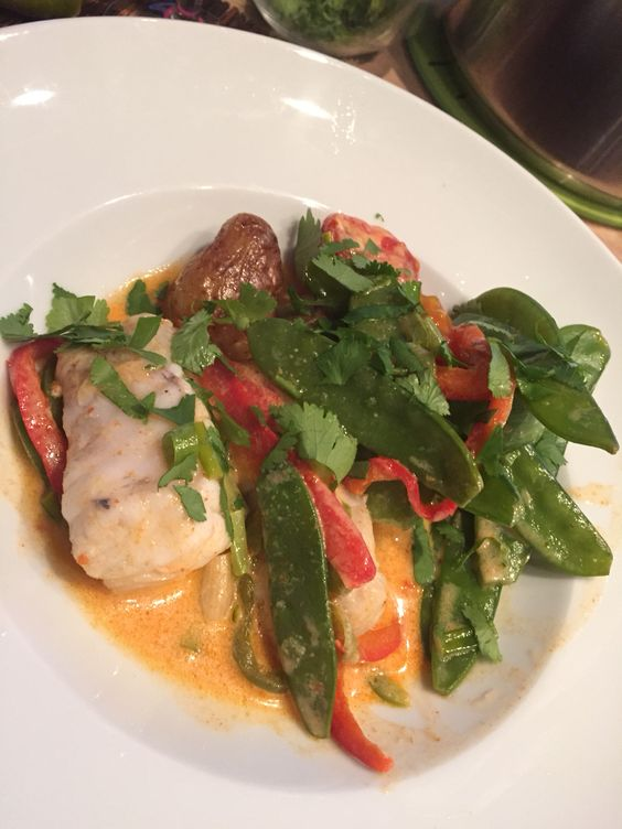 Red Curry fish