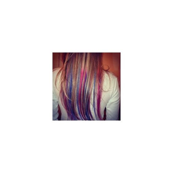 Fuck Yeah, Dyed Hair! ❤ liked on Polyvore