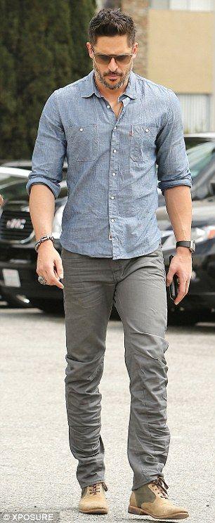 Joe Manganiello cuts a suave and clean cut figure in Beverly Hills ...