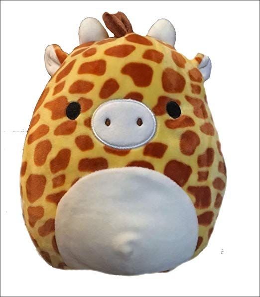 Squishmallow 8 Giraffe In 2021 Giraffe Toy Giraffe Cute Plush