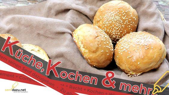 Hamburger Brötchen Rezept - Leckere Buns selber machen
