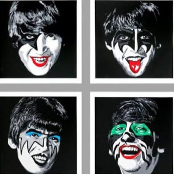 Kiss-Beatles