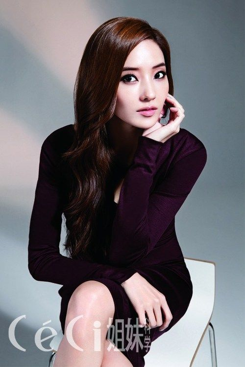 pinterest.com/fra411 #asian #beauty  Han Chae Young - Ceci Magazine December Issue '12