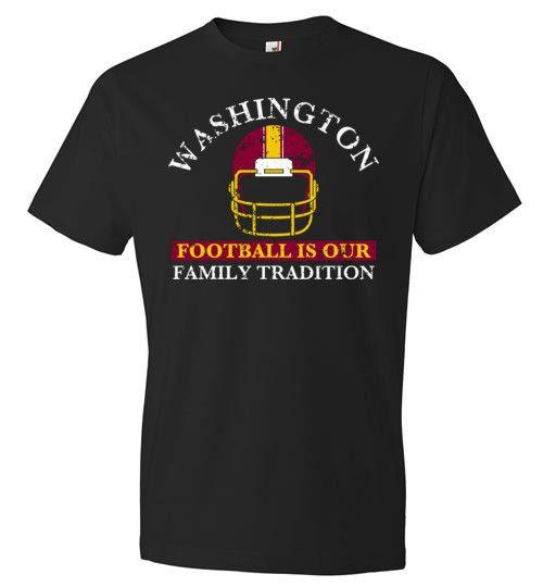 Washington Football Family Tradition T-Shirt