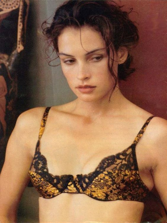 Famke Janssen for Victoria's Secret, 90's vintage. | The ... Anna Paquin Imdb