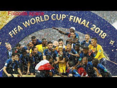 Prize Giving Ceremony Of Fifa World Cup 2018 Final France Winning Mo World Cup Final 2018 World Cup Final World Cup