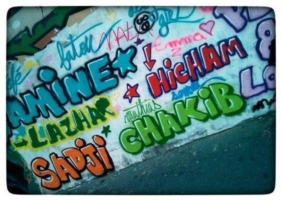 Street art paris august 2013