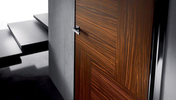 Puertas de dise o puertas modernas sofisticadas y - Puertas modernas de interior ...