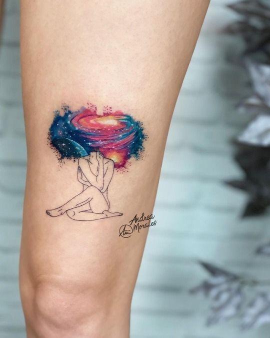 Tattoo Ideas Mixed Styles For Women Tattoos Thigh Tattoos Women Tattoos For Women