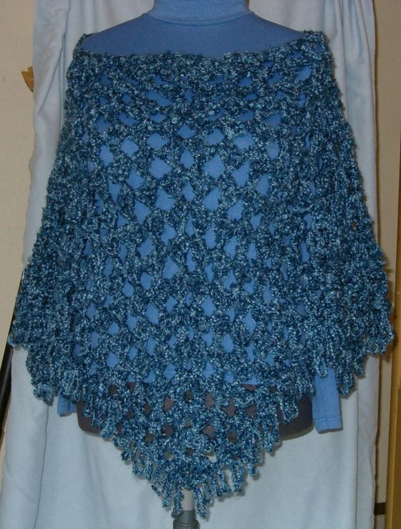 Easy Crochet Top Patterns For Beginners : Halter tops, Shawl and Free crochet on Pinterest
