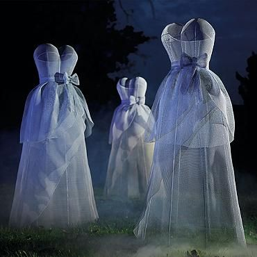 Grandin Road   Shop distinctive wall art  indoor furniture and accents  Halloween  costumes and party ideas  outdoor furniture and decor  bedding   Ghostly Wire Dress   Fright Night They make me say Booo  . Martha Stewart Halloween Costumes Grandin Road. Home Design Ideas