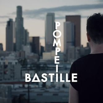 Pompeii by Bastille. Such a good song! Videos a bit scary but good song!