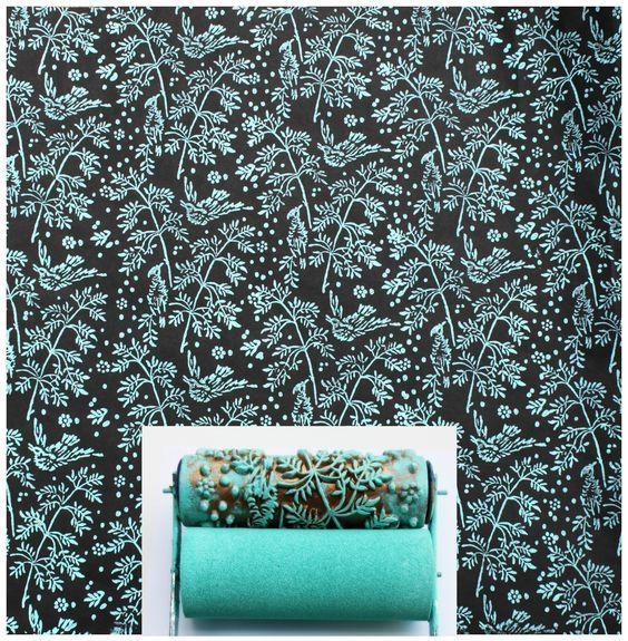 Rolo de Pintura Design Primavera, LoucosPorDesign.Com - Moderno, Criativo e Original