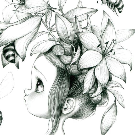 tableau dco pour chambre de petite fille - Coloriage Decoration Dune Chambre De Bebe