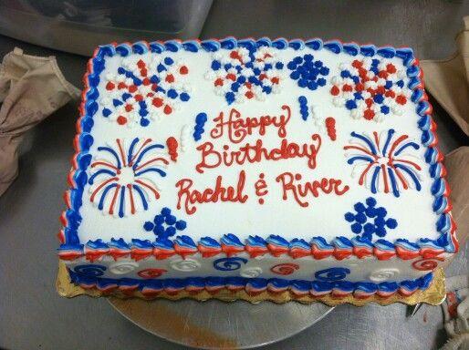 How To Make Fireworks On A Cake
