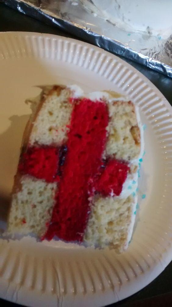 My St George cake