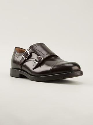 Henderson Fusion Monk Shoes in brown #hendersonfusion #menshoes #menswear #monk www.jofre.eu