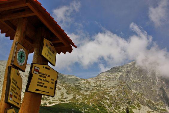 Hiking the Tatra-mountains in Slovakia