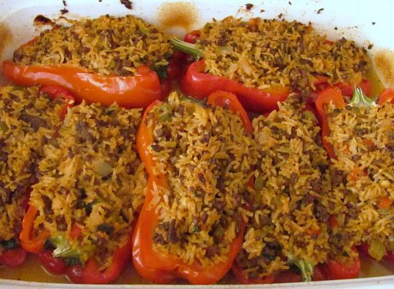 Stuffed Peppers from Louanne's Kitchen